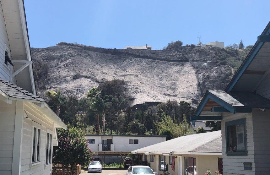 Loma Alta Fire Scar