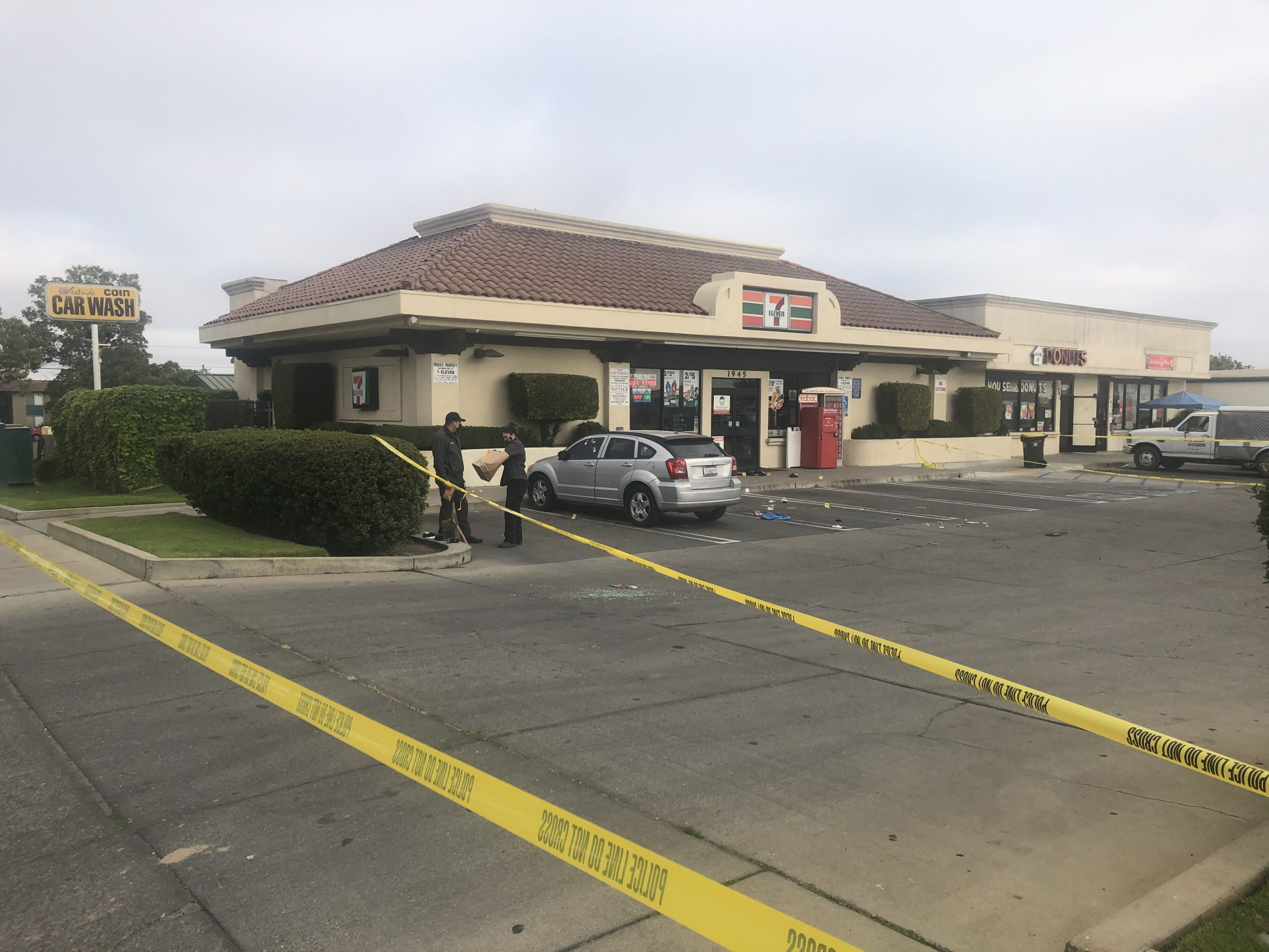 Police are investigating a shooting in Santa Maria
