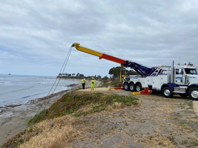 car hoisted isla vista 4