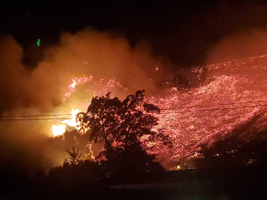 TV Hill Fire 5