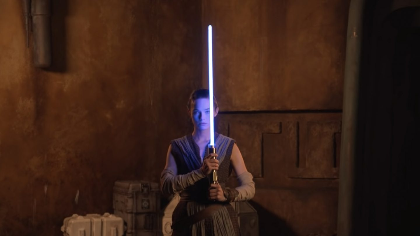 Disney Parks released a very short clip of what appears to be a working lightsaber on May 4.