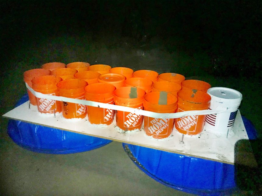 isla vista water rescue handmade boat 2