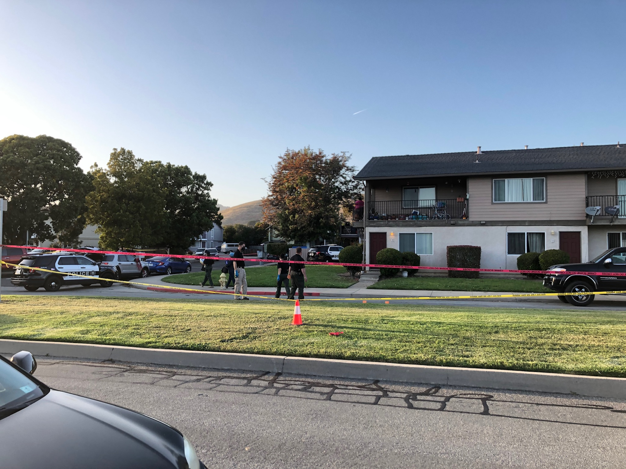 Two San Luis Obispo Police officers shot while serving search warrant near apartment complex | NewsChannel 3-12