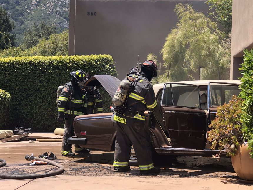 slo vehicle fire skyline drive 050821 2