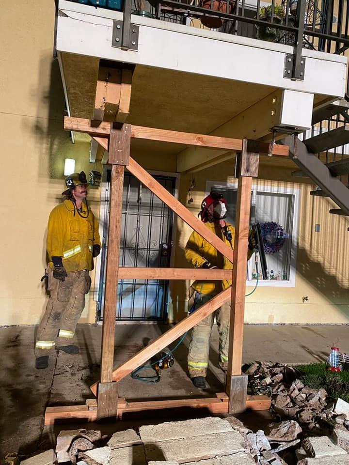 vehicle into building santa maria 051621 2