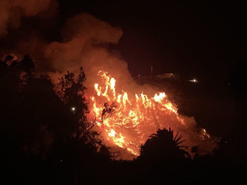 TV Hill Fire