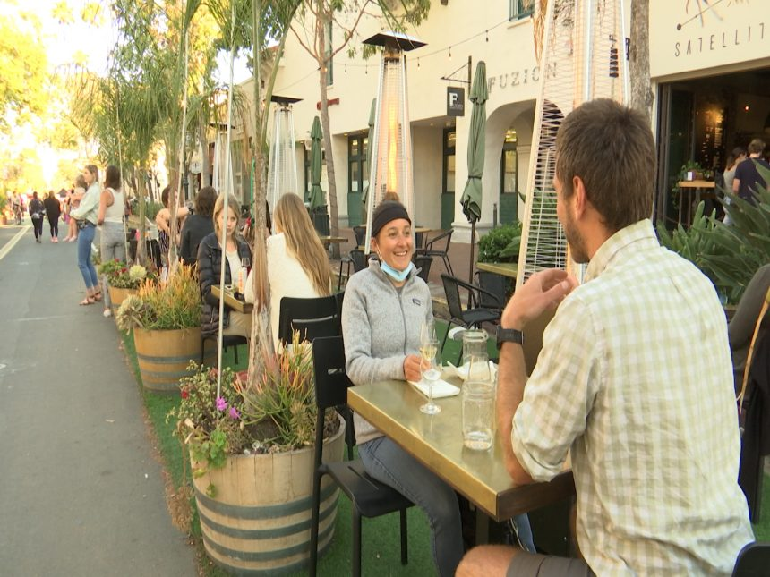 Outdoor dining expansions
