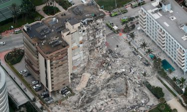 More than 80 rescue units responded to the scene of the partially collapsed condo building