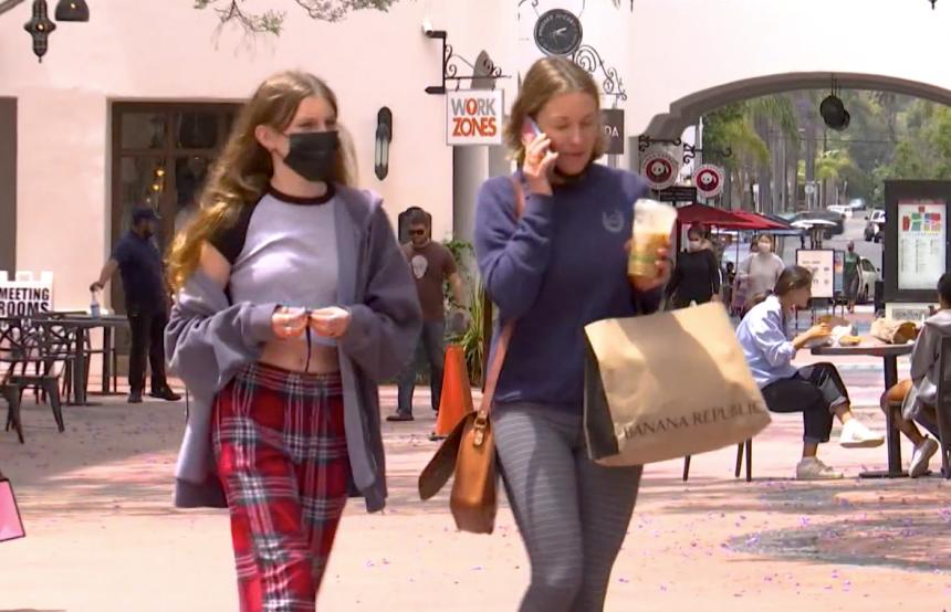 Downtown Santa Barbara Shopping