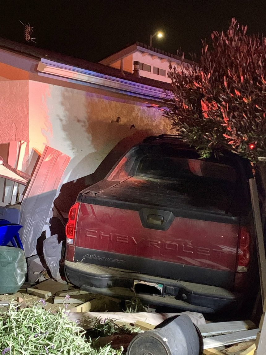 grover beach vehicle into building 1