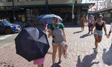 The extreme heat wave in the Northwest is beginning to subside in Seattle and Portland