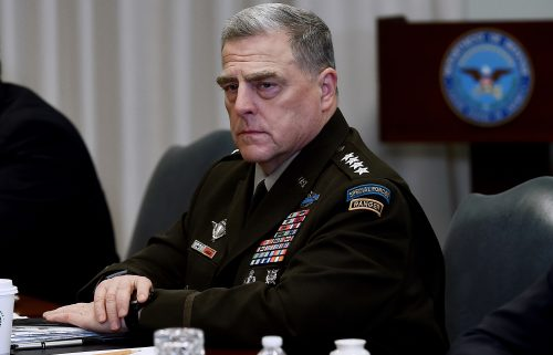 Joint Chiefs Chairman Gen. Mark Milley often found he was the lone voice of opposition to those demands during heated Oval Office discussions