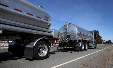 It's the shortage of tank truck drivers coupled with rising demand that is causing supply chain bottlenecks and shortages.