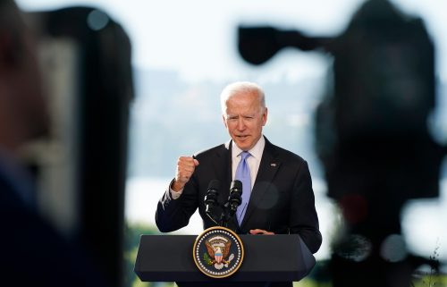 President Joe Biden said he warned Russian President Vladimir Putin on June 16 of consequences if jailed Russian opposition leader Alexey Navalny were to die in prison