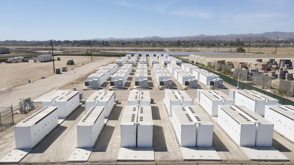 The Saticoy battery energy storage system helps reduce grid outages and delivers power during peak demand times without harmful air, water or noise pollution. (Arevon)