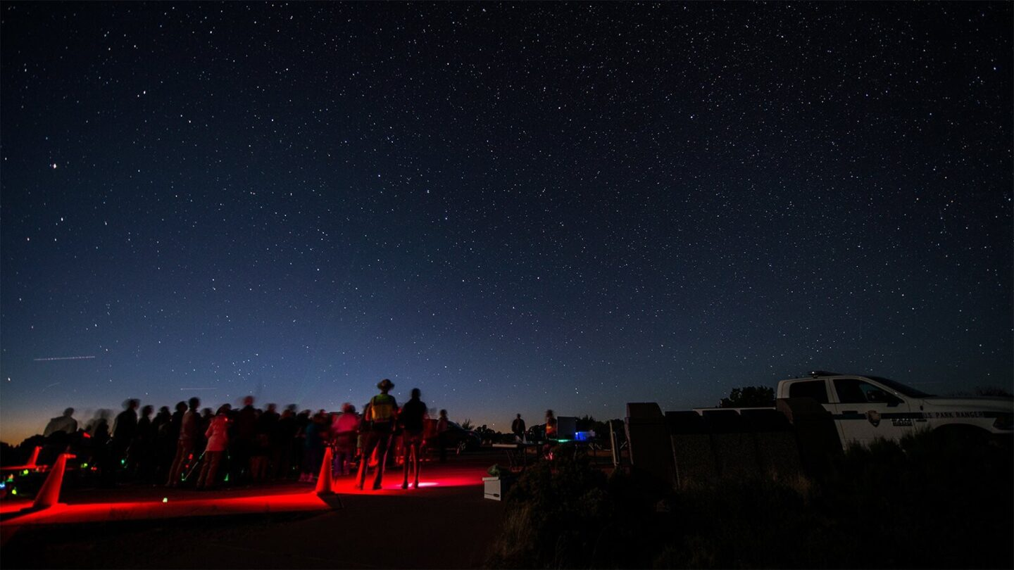<i>National Park Service</i><br/>The Delta Aquariids meteor shower will light up the night sky on Juy 28-29.