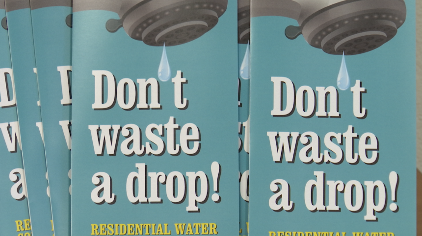 Water conservation pamplet