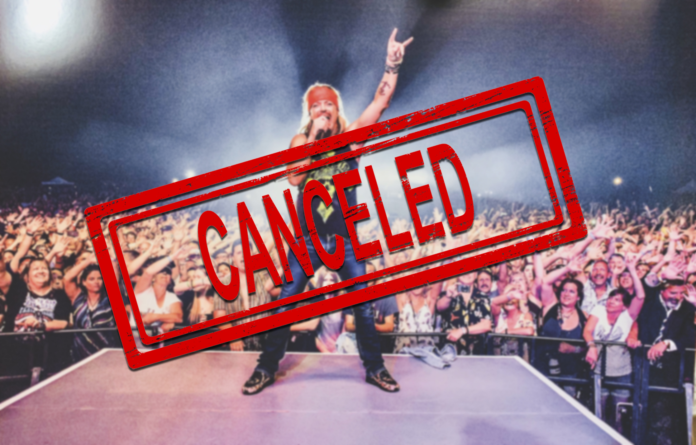 California Mid-State Fair announced Monday that Bret Michaels would not perform as part of the summer concert series.