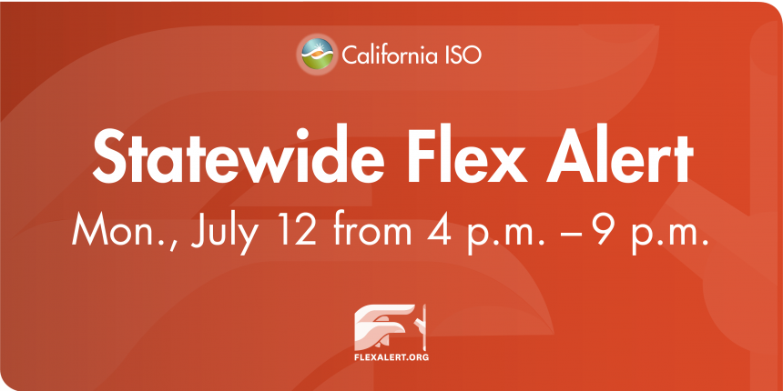flex alert july 12