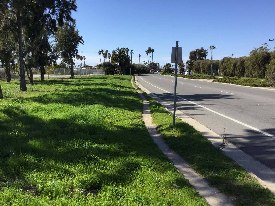 Hollister Avenue between Fairview and Frederick Lopez Road.