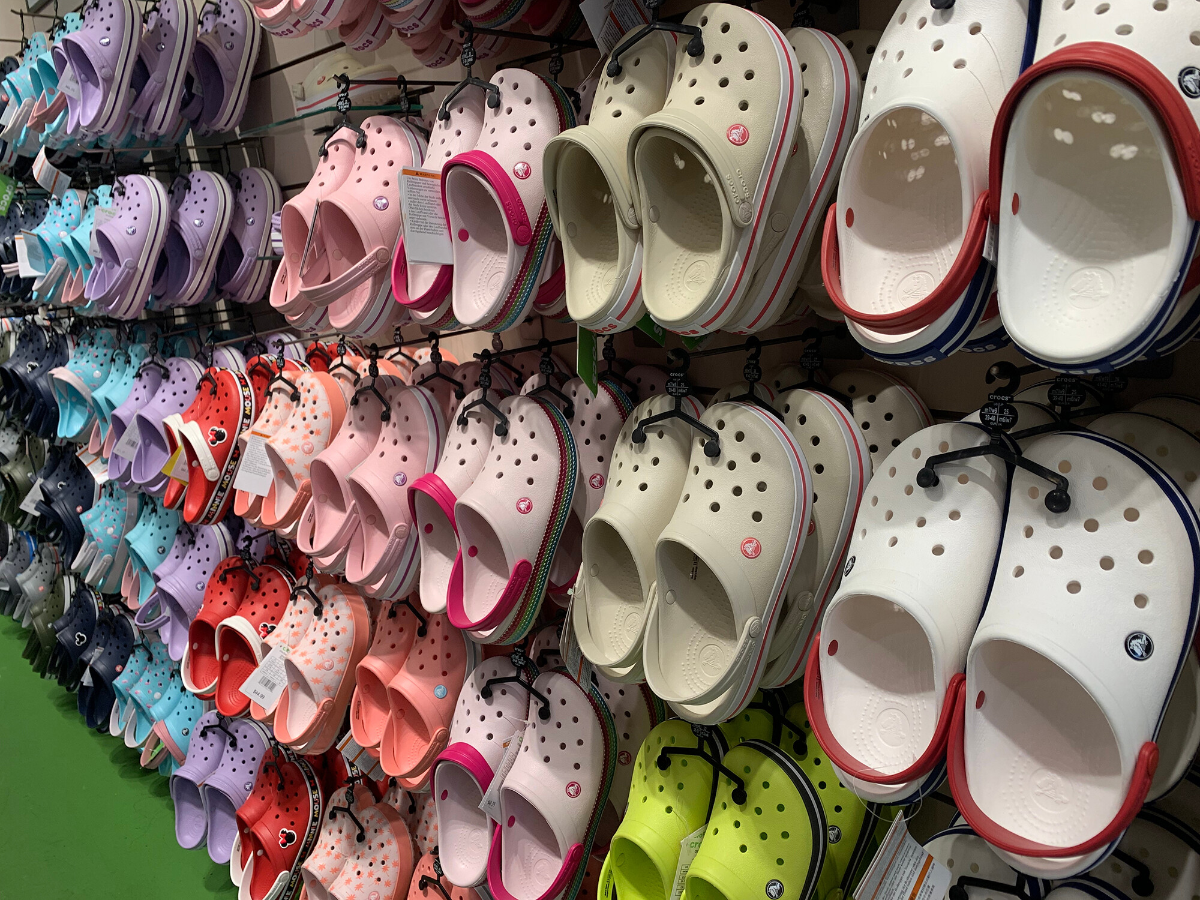 <i>Anatoliy Tesouro/Shutterstock</i><br/>Crocs is accusing Walmart
