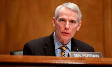 Sen. Rob Portman of Ohio (pictured here) and White House aide Steve Ricchetti are among negotiators on a final agreement.
