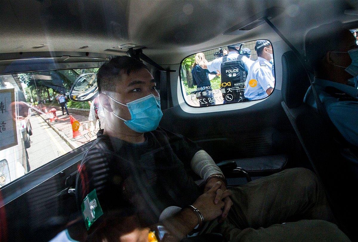 <i>Getty Images</i><br/>Hong Kong defendant Tong Ying-Kit