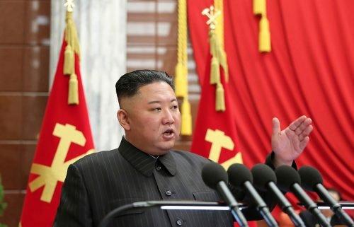 North Korean leader Kim Jong Un speaks in Pyongyang on June 29.
