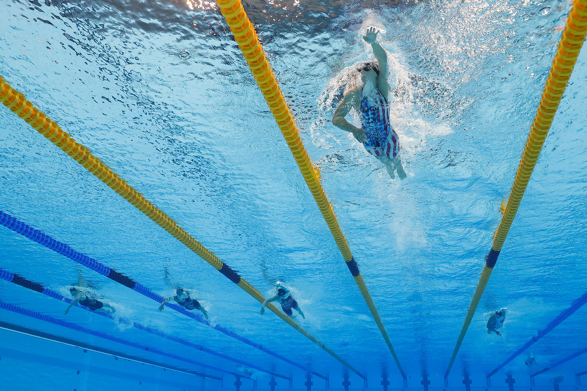 <i>Stefan Wermuth/Reuters</i><br/>The Olympics swimming program continues Wednesday.