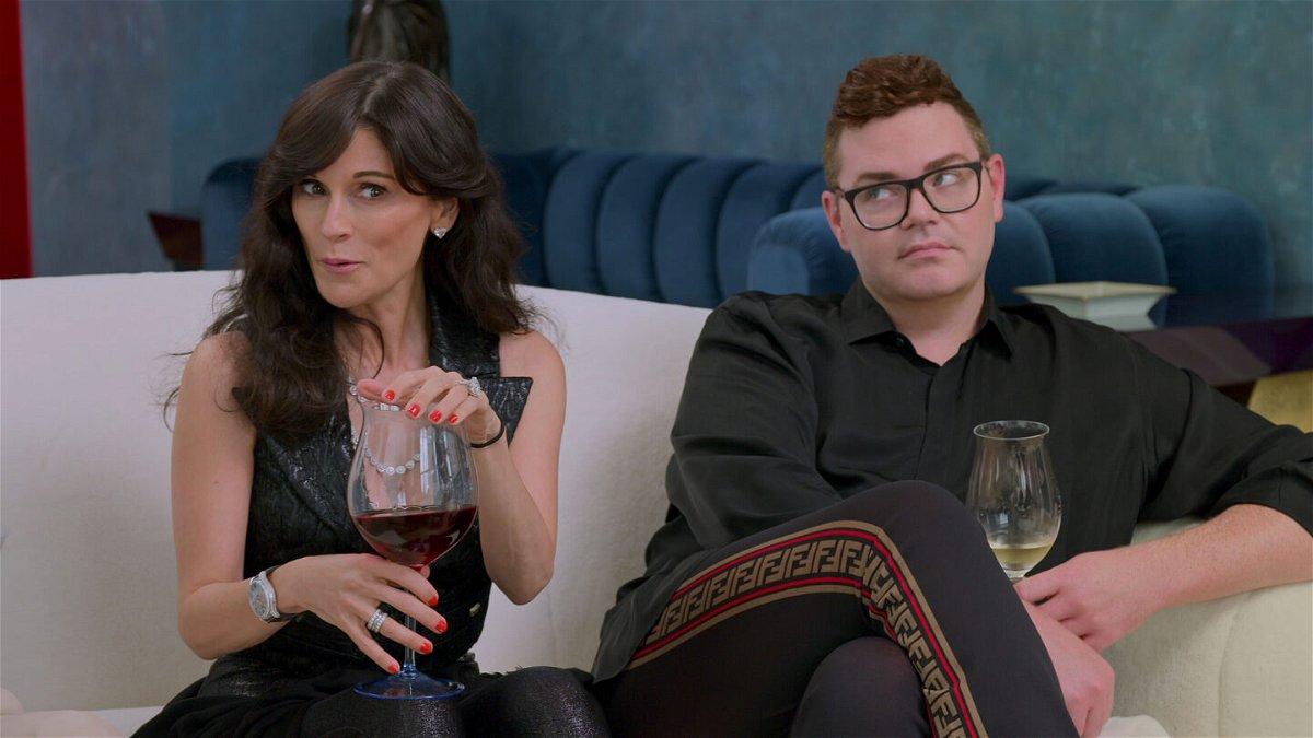 <i>Netflix</i><br/>Julia Haart and Robert Brotherton in an episode of