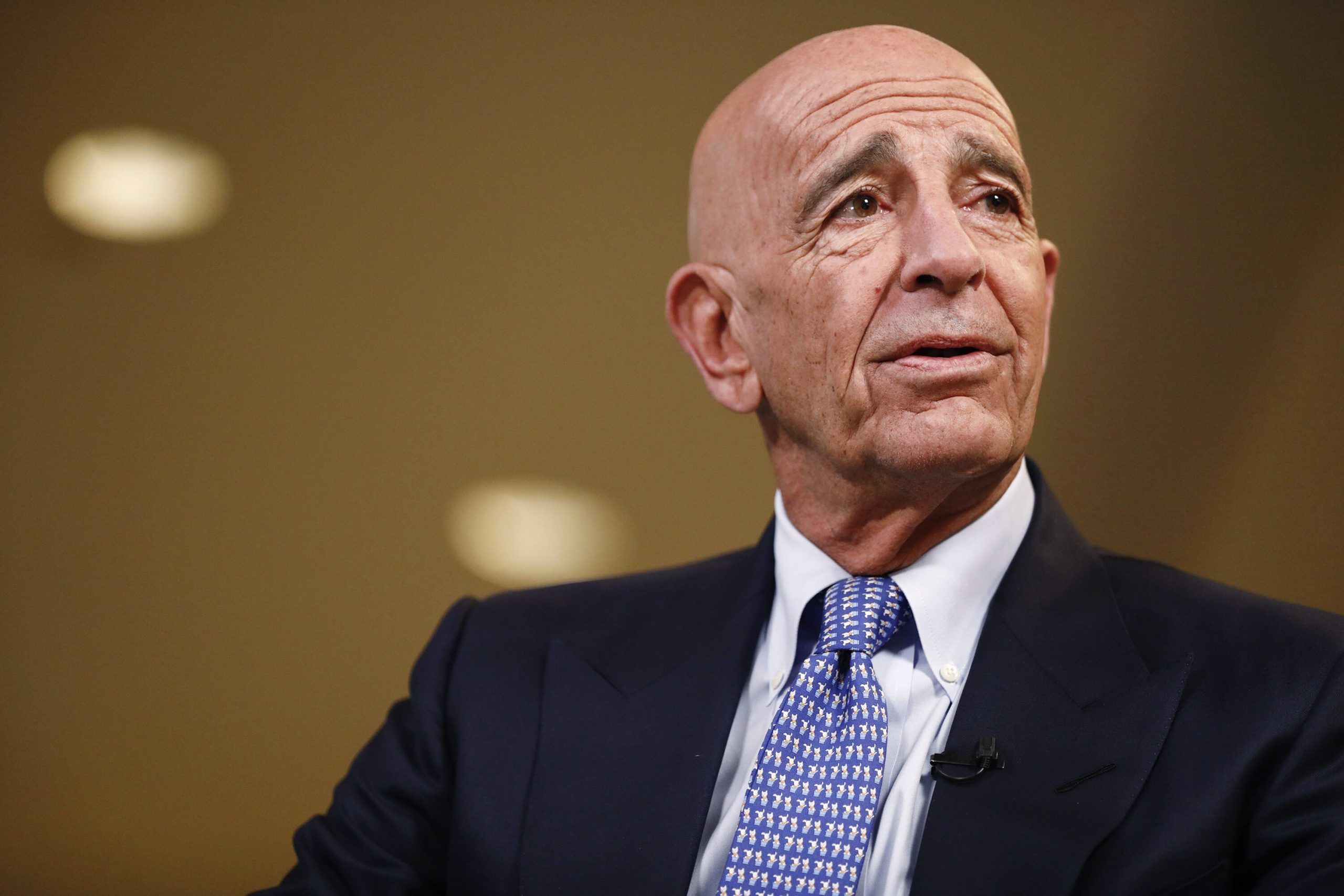 <i>Patrick T. Fallon/Bloomberg/Getty Images</i><br/>The illegal foreign lobbying charges brought against Tom Barrack on July 20 punctuate a winding business and political career defined by his unique staying power in former President Donald Trump's constantly shifting orbit of advisers.