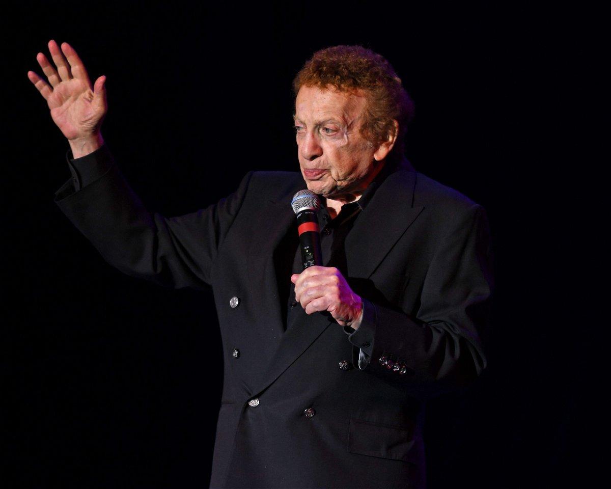 <i>Larry Marano/Shutterstock</i><br/>Comedian Jackie Mason