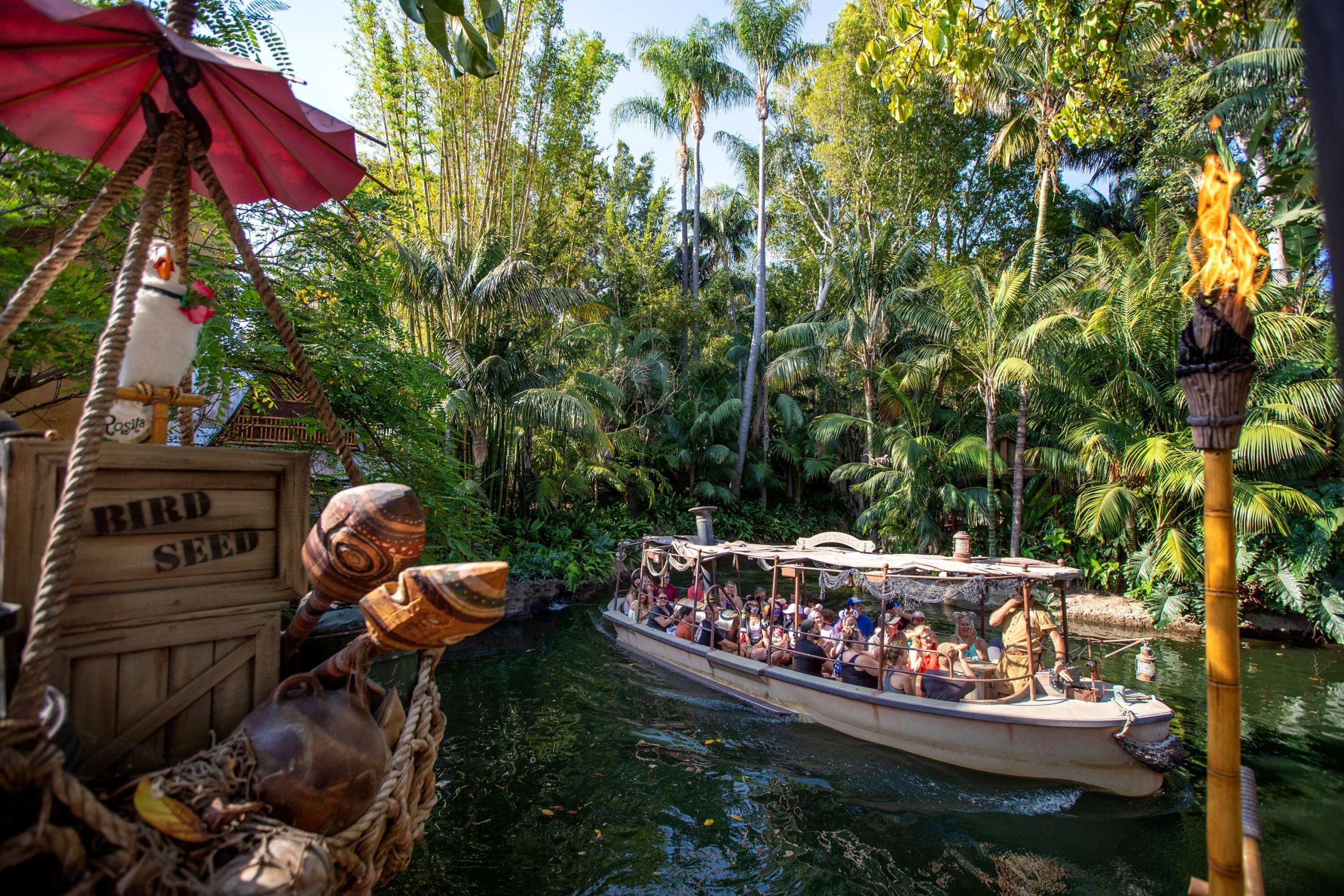 <i>Allen J Schaben/Los Angeles Time/Shutterstock</i><br/>Jungle Cruise will officially reopen in Disneyland on July 16.