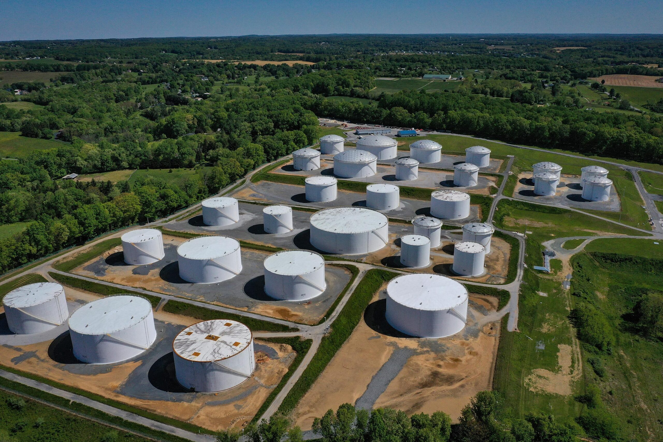 <i>Drew Angerer/Getty Images</i><br/>Critical pipeline operators have reported more than 220 cybersecurity incidents since the Transportation Security Administration implemented emergency measures in the wake of the crippling ransomware attack on one of America's most important pipelines