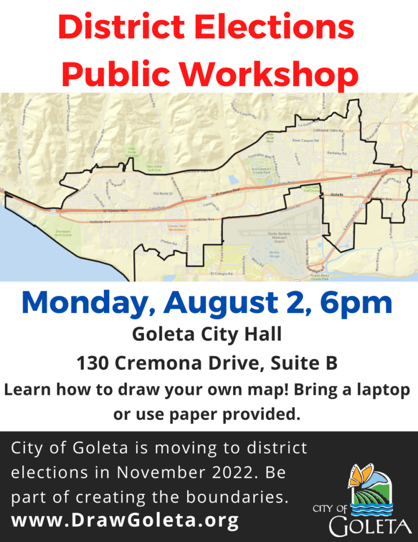 City of Goleta Districting