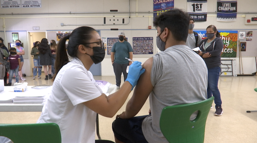 Orcutt Academy Vaccination Clinic