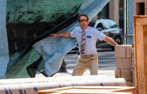Ryan Reynolds stars in 'Free Guy.'