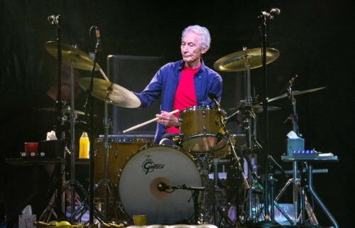 The Rolling Stones drummer Charlie Watts