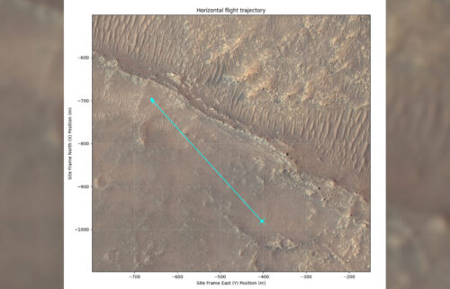 Ingenuity's eleventh flight will take it northwest of the rover.