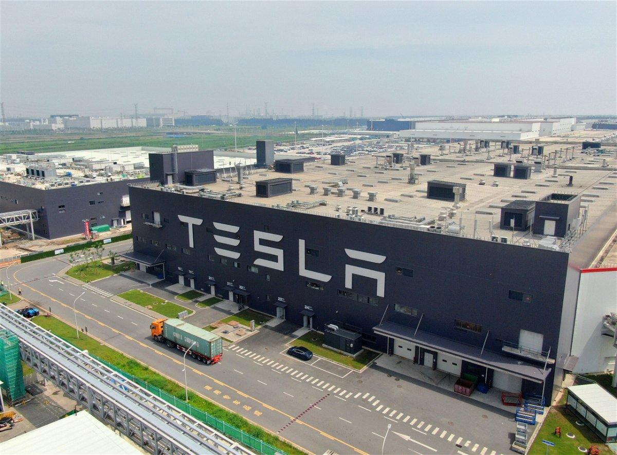 <i>FEATURECHINA/Newscom/Sipa</i><br/>Tesla sales dropped sharply in China
