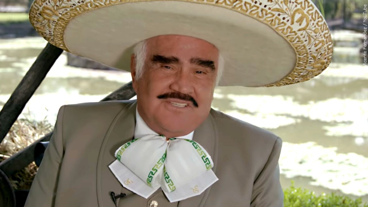 Iconic Mexican entertainer Vicente Fernandez