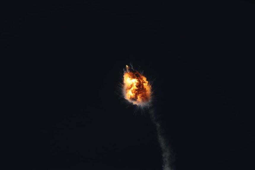 firefly rocket explosion 2 Paul Dieckman