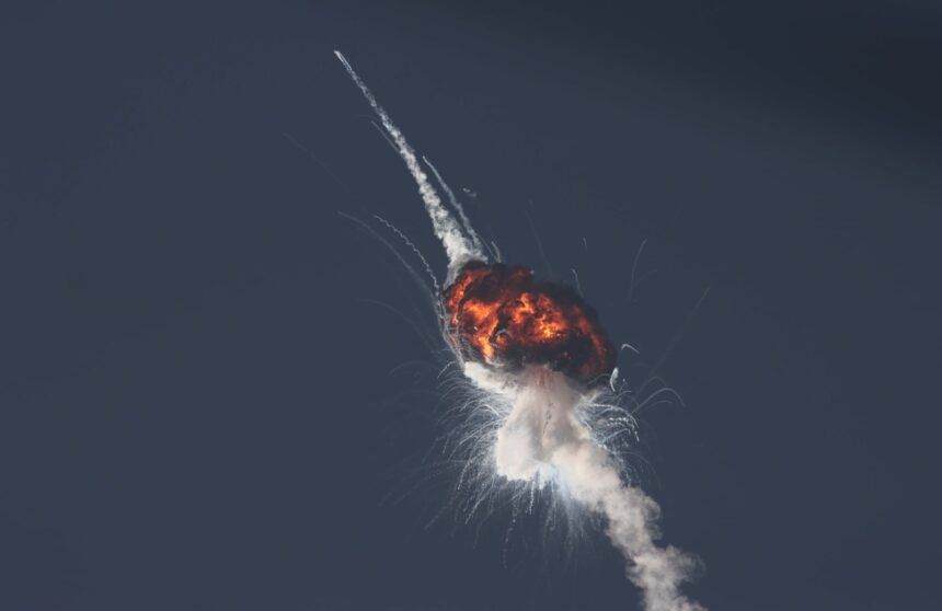 firefly rocket explosion Paul Dieckman
