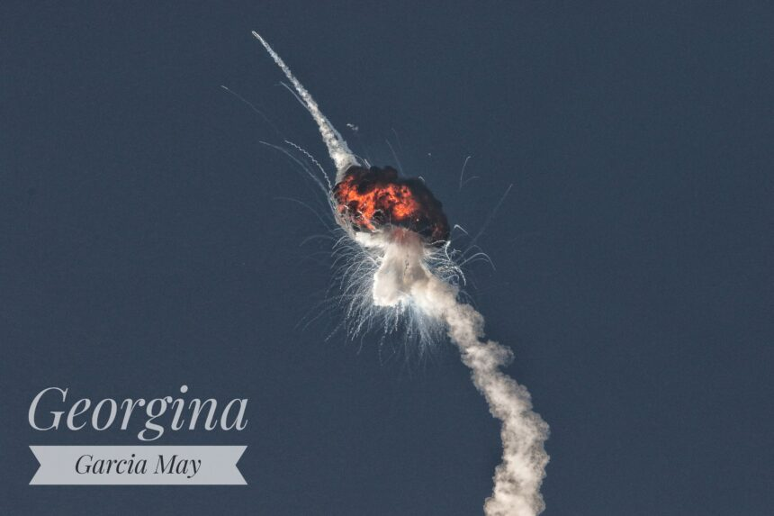 firefly rocket explosion Georgina Garcia May