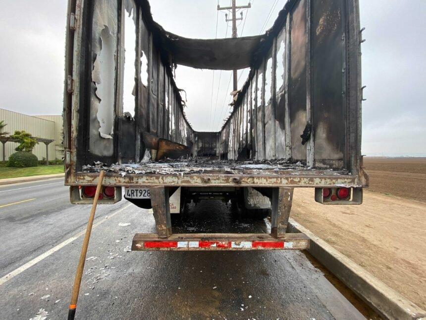 santa maria truck trailer fire 3