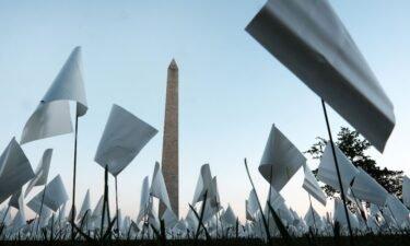 "The ""In America: Remember"" public art installation in Washington"