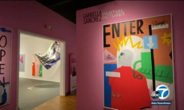 Partial Pictures is an exhibit in Long Beach by 33-year-old artist Gabriella Sanchez.