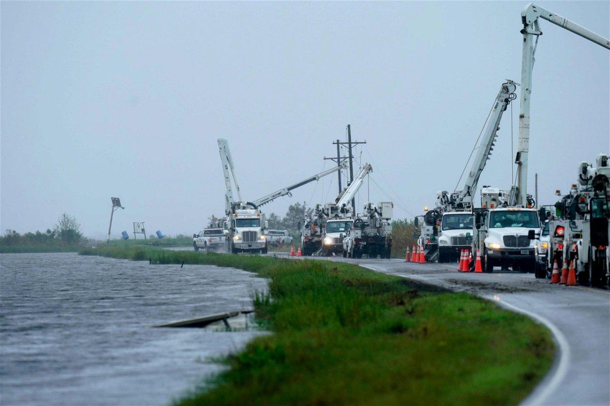 <i>Gerald Herbert/AP</i><br/>Tropical Depression Nicholas threatens to unleash heavy rainfall in Louisiana