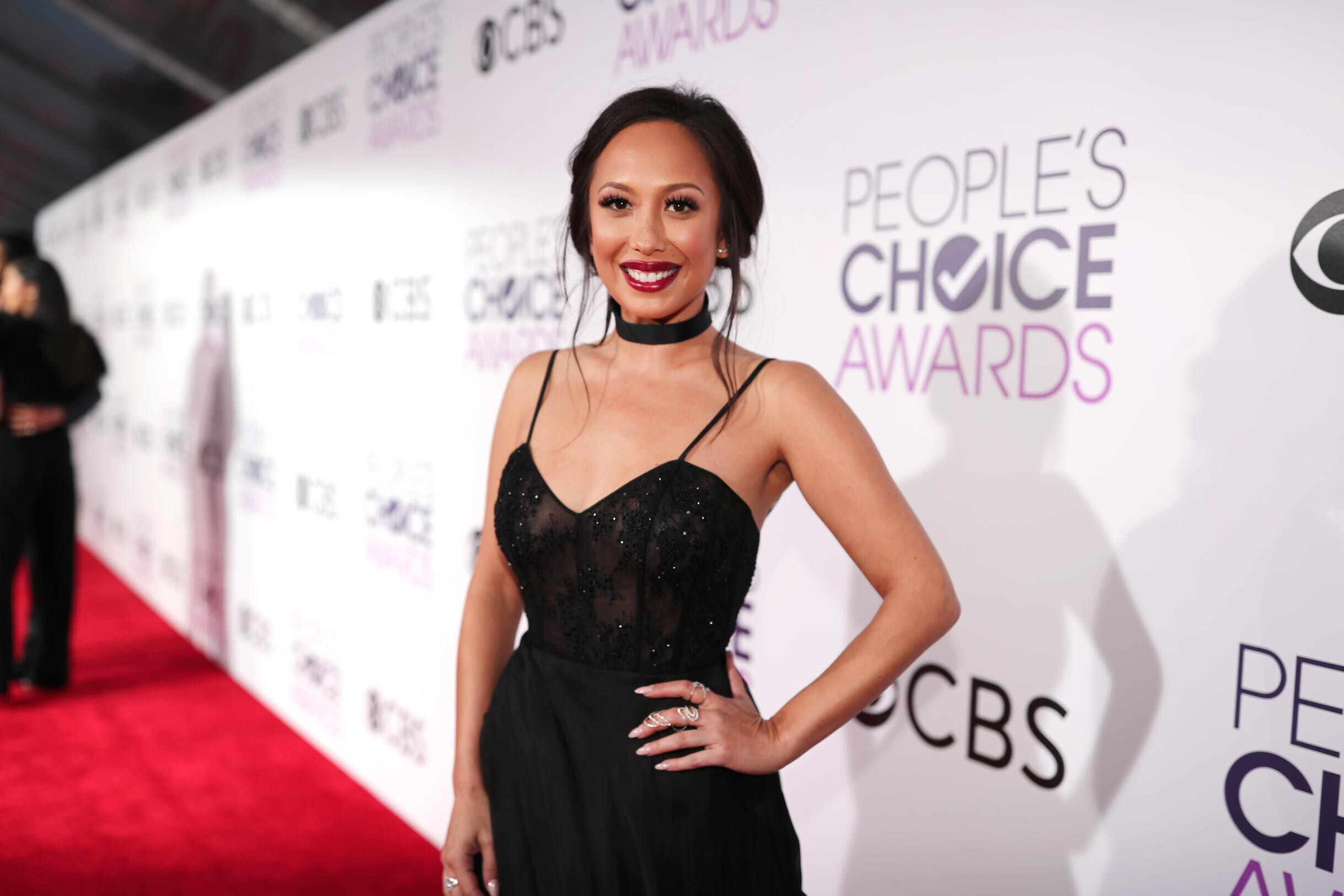 <i>Christopher Polk/Getty Images</i><br/>Cheryl Burke has shared she has tested positive for Covid-19.