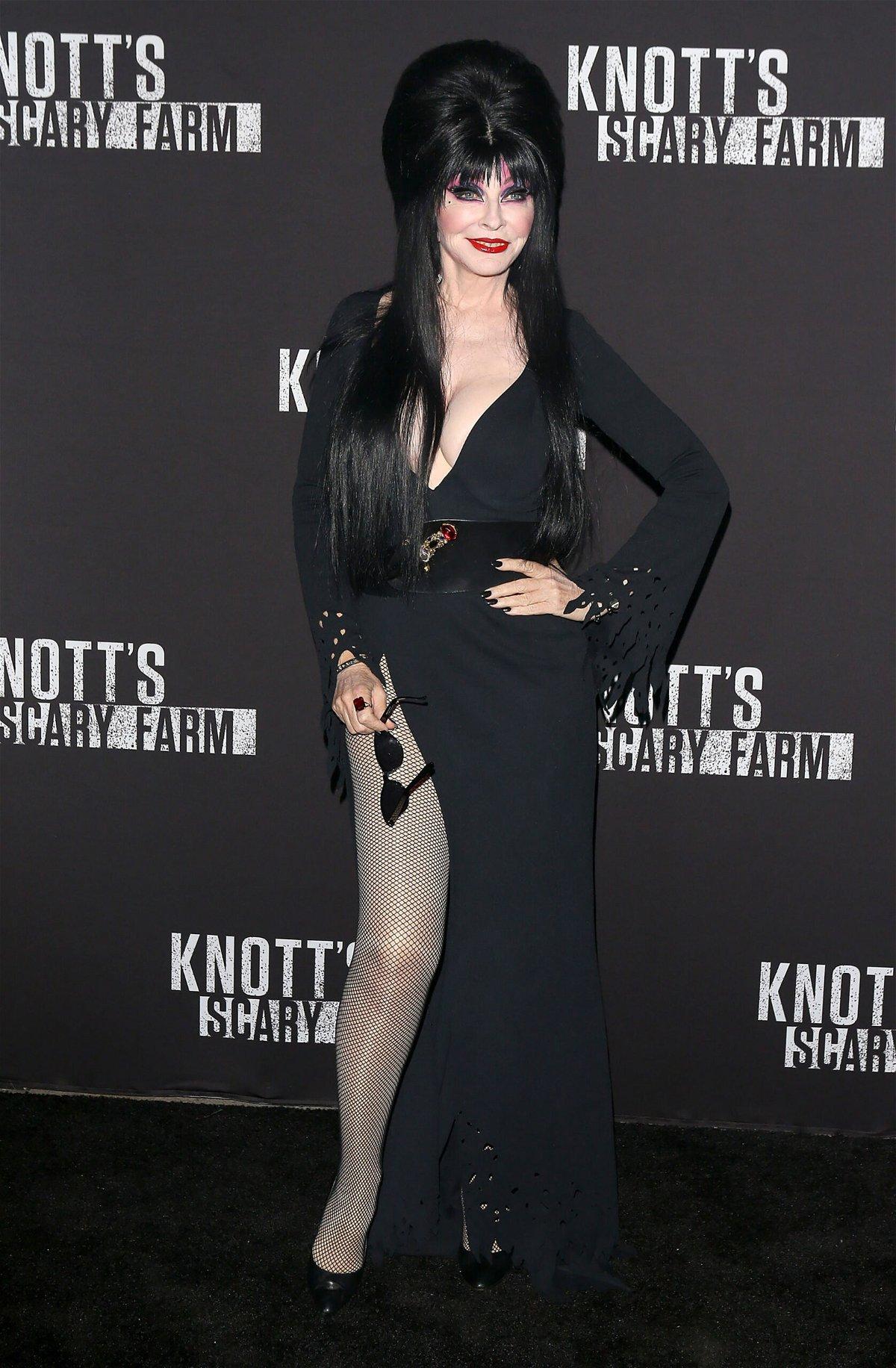 <i>Michael Tran/FilmMagic/Getty Images</i><br/>Elvira